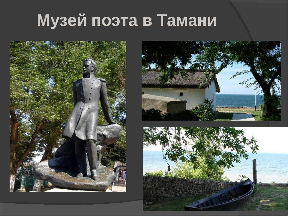 Музей поэта в Тамани