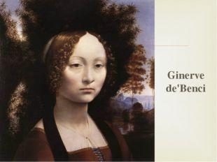 Ginerve de'Benci 