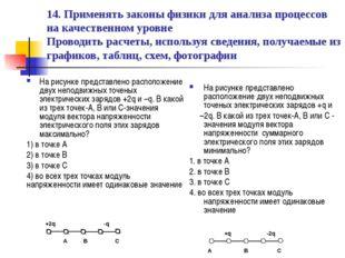 14. Применять законы физики для анализа процессов на качественном уровне Пров