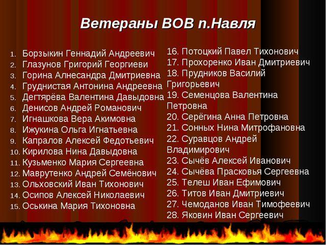 Борзыкин Геннадий Андреевич Глазунов Григорий Георгиеви Горина Алнесандра Дми...