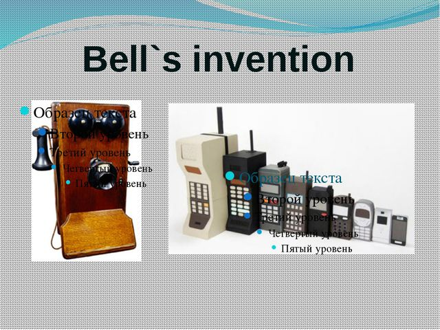 Bell`s invention