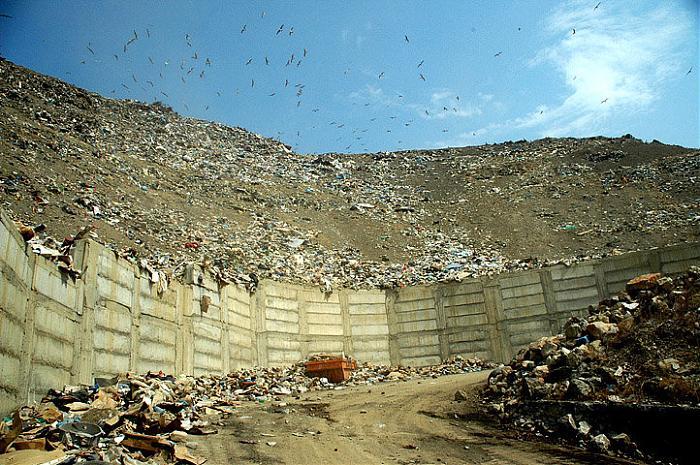 Переработка мусора в крыму