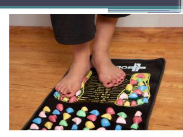 Массажный коврик для ног своими руками с