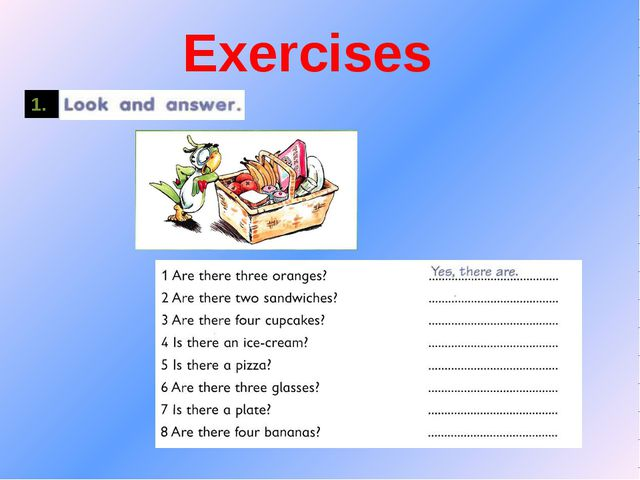 Exercises 1.