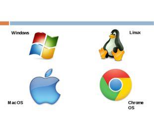 Windows Linux Mac OS Chrome OS