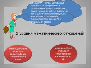 2 уровня межэтнических отношений Межличностные отношения людей разных национ