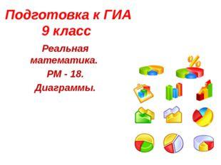 Подготовка к ГИА 9 класс Реальная математика. РМ - 18. Диаграммы.