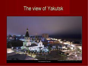 The view of Yakutsk