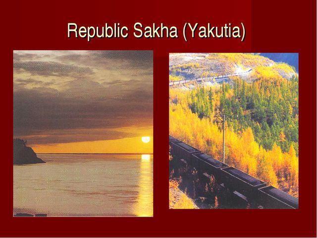 Republic Sakha (Yakutia)