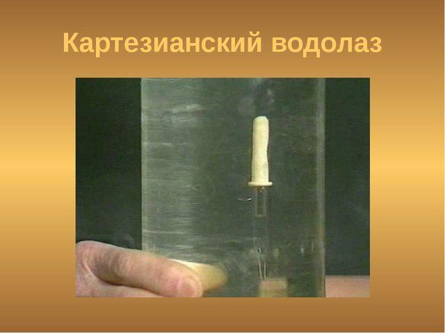 Картезианский водолаз