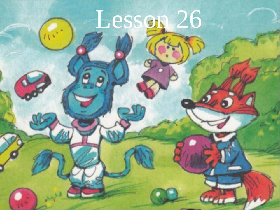Lesson 26