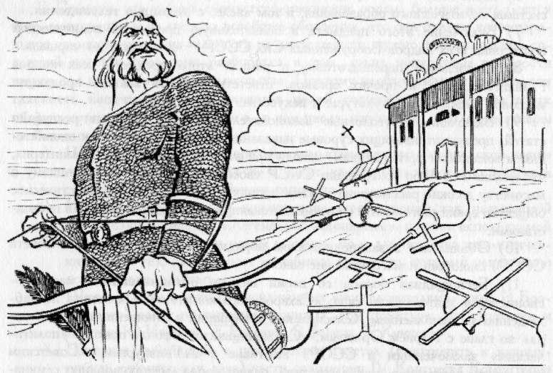 Илья Муромец в ссоре с князем Владимиром