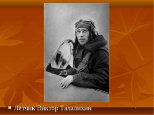 Лётчик Виктор Талалихин