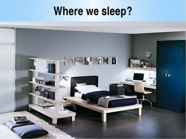 Where we sleep?