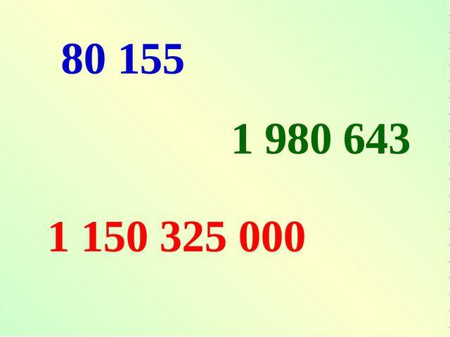 1 150 325 000 80 155 1 980 643