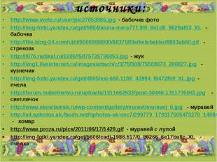 источники: http://www.vorle.ru/user/pic27053986.jpg - бабочка фото http://img