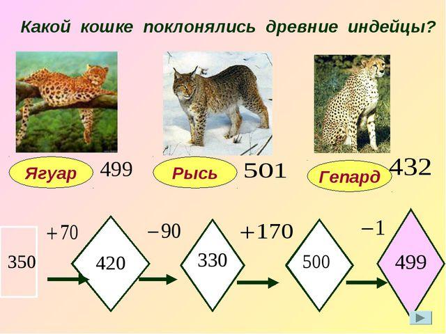 Какой кошке поклонялись древние индейцы? Ягуар 420