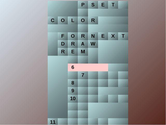 PSET  COLОR  FORNEXT DRAW REM  6 7...