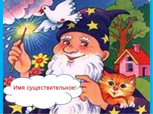 Имя существительное! FokinaLida.75@mail.ru