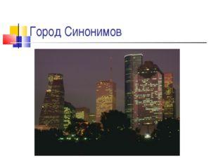 Город Синонимов