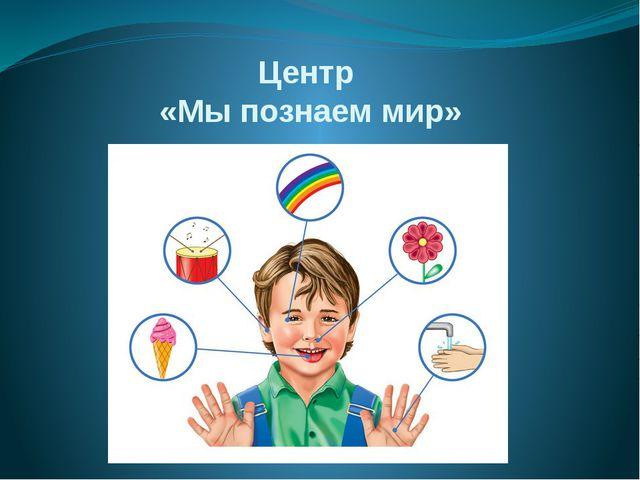 Центр «Мы познаем мир»