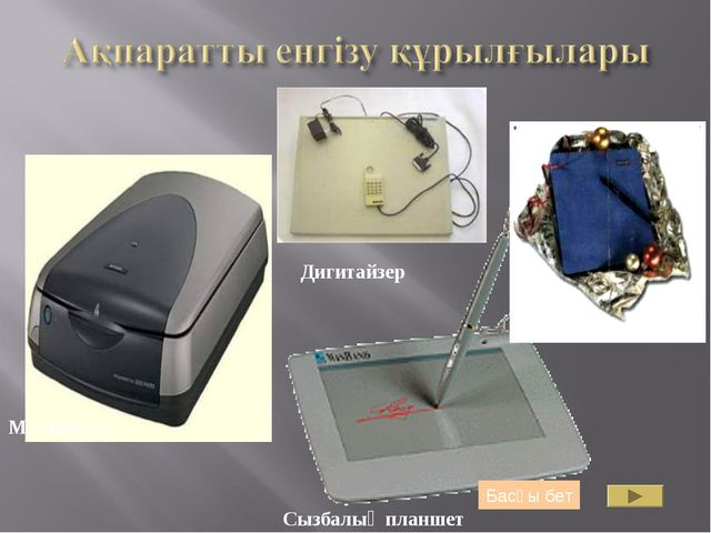 Мәтіналғы Сызбалық планшет Дигитайзер Басқы бет