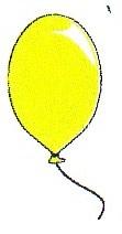 шарик желтый
