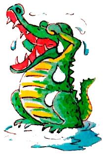 лить крокодиловые слёзы