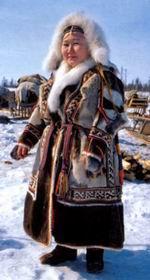 Ненецкая одежда: ягушка