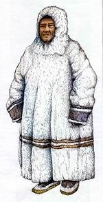 Ненецкая одежда: совик (гусь, сокуй, кумши, кумшин, савак, соок)