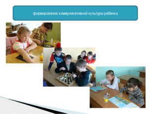 формирование коммуникативной культуры ребенка