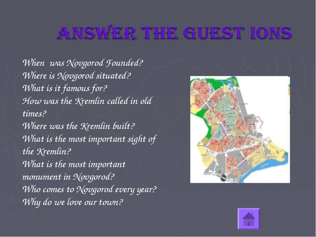 When was Novgorod Founded? Where is Novgorod situated? What is it famous for?...