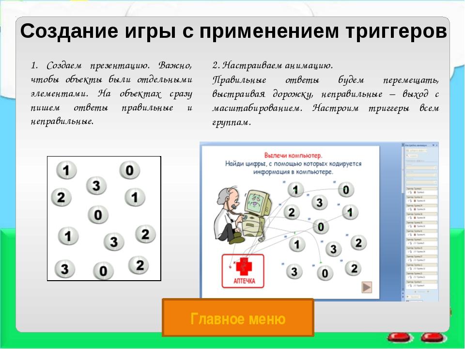 Набор слайдов Просмотр презентации Объект, в котором находятся готовые презен...