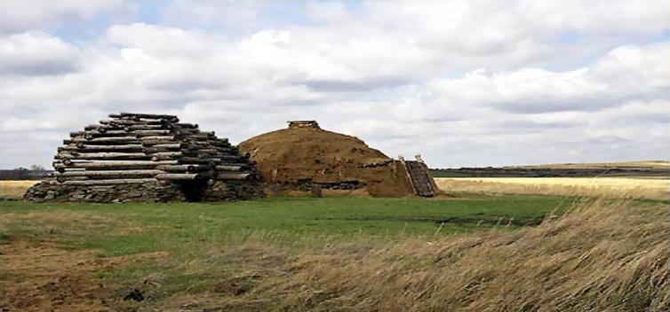 Аркаим-жилища каменного века