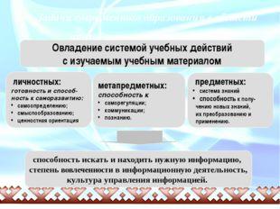 Задачи современного образования в области преподавания русского языка Овладе
