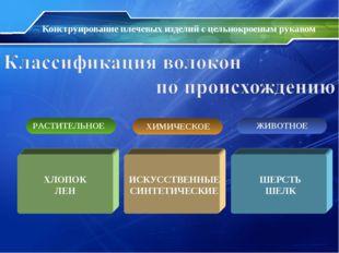 Конструирование плечевых изделий с цельнокроеным рукавом ХЛОПОК ЛЕН ШЕРСТЬ ШЕ