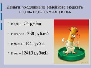 В день – 34 рубля В неделю – 238 рублей В месяц – 1054 рубля В год – 12410 р