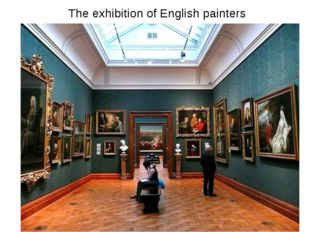 The exhibition of English painters