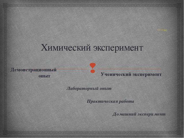 « Эксперимент –истинный посредник между человеком и природой». Л.да Винчи Хи...
