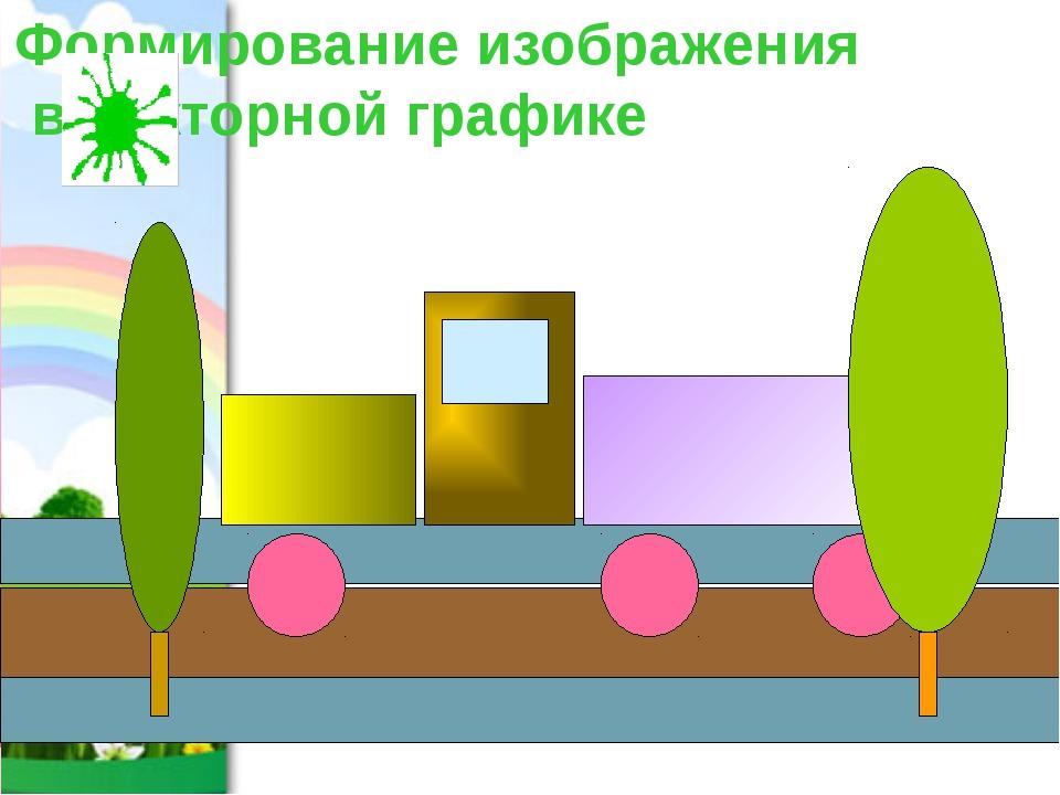 Формирование изображения в векторной графике