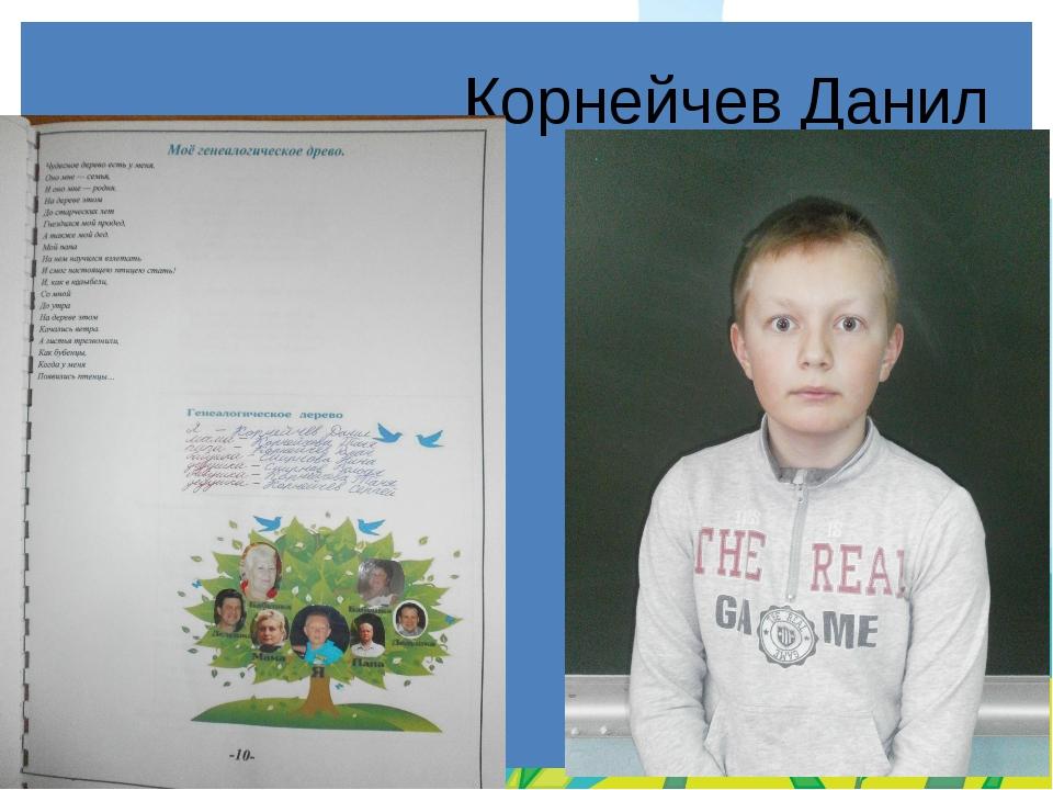 Корнейчев Данил FokinaLida.75@mail.ru