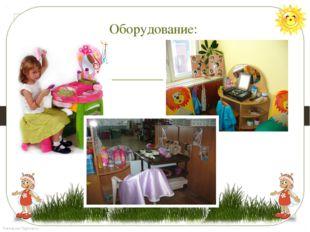 Оборудование: FokinaLida.75@mail.ru