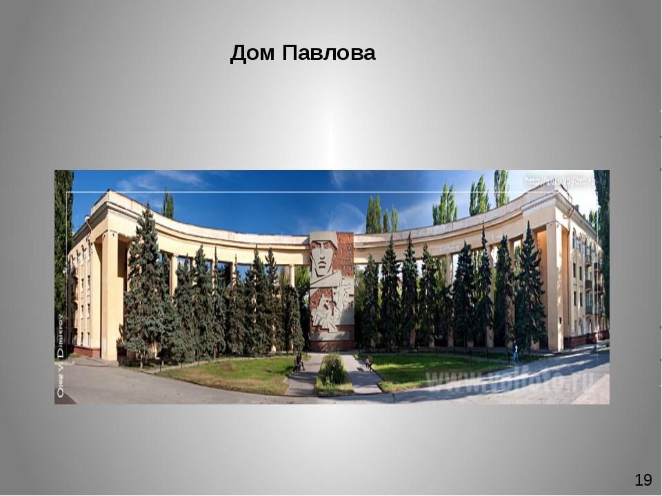 Дом Павлова 19