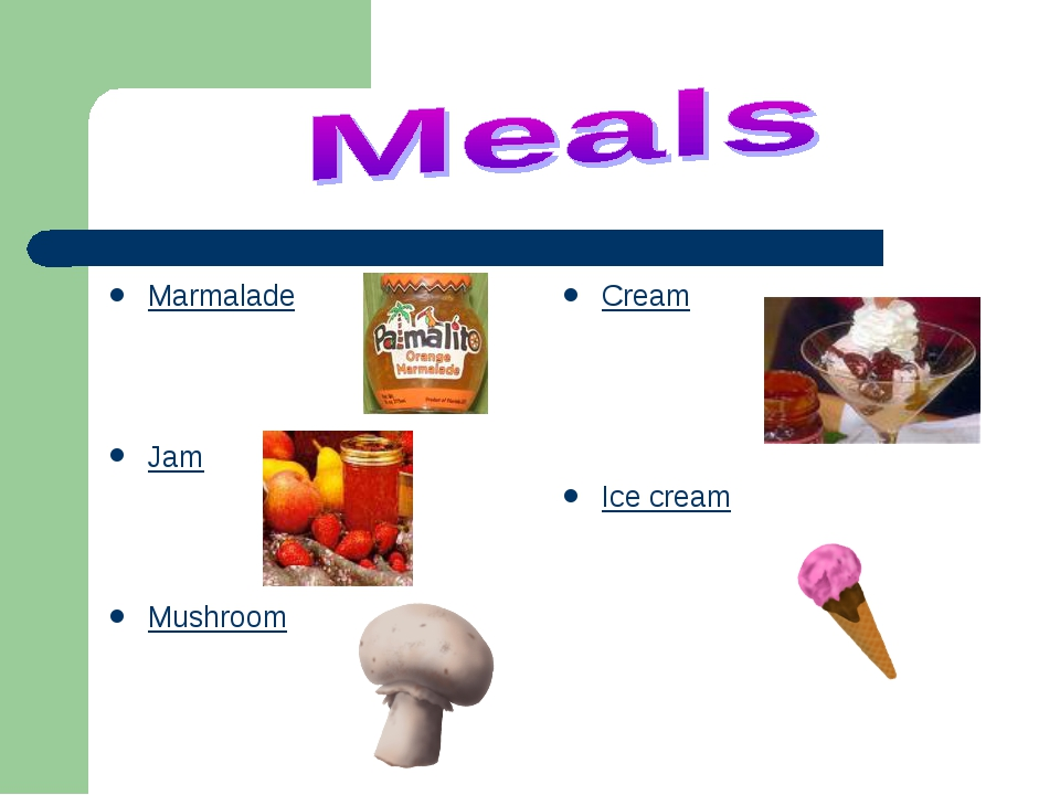 Marmalade Jam Mushroom Cream Ice cream