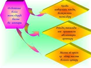 Өз бетінше білім жетілдірудің басты бағыттары Жалпы ой-өрісін кеңейту, жалпы біл