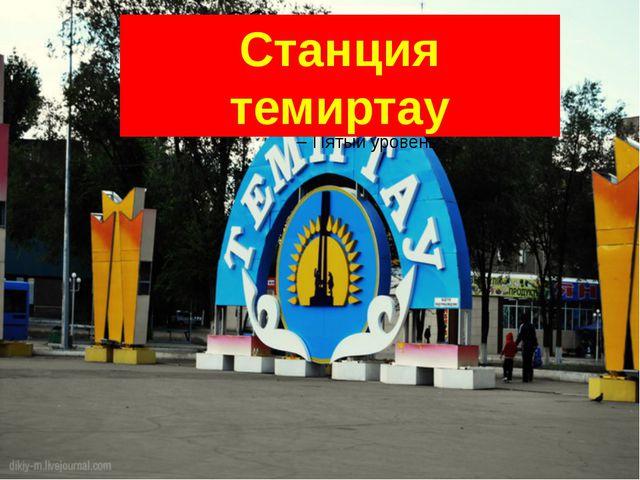 Станция темиртау