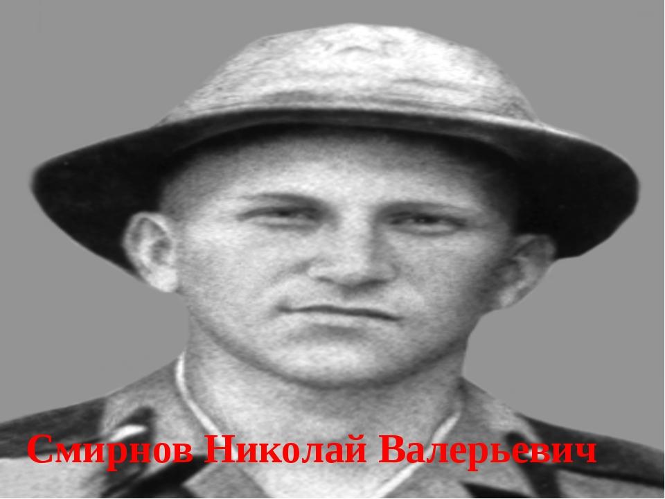 Смирнов Николай Валерьевич