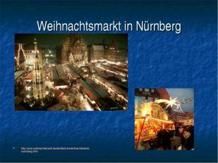 Weihnachtsmarkt in Nürnberg http://www.weihnachtsmarkt-deutschland.de/weihnac