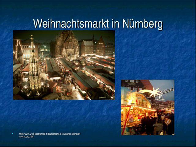Weihnachtsmarkt in Nürnberg http://www.weihnachtsmarkt-deutschland.de/weihnac...