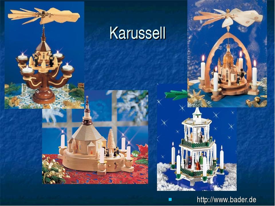 Karussell http://www.bader.de